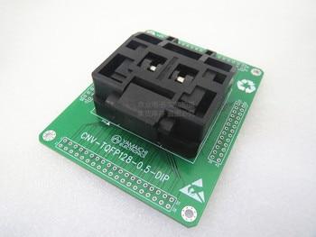 Original YAMAICHI IC Test Seat IC51-1284-1433 TQFP128 Burning Programmer QFP128 Socket Adapter