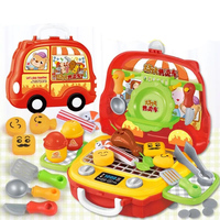 Juguetes encantadores para niños, juguetes de comida, juegos de simulación, juguetes educativos para niños, 8 estilos, tiendas clásicas, caja registradora de Juguetes 2