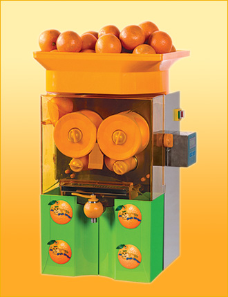 110V /220v stainless steel electric citrus orange juicing machine/ orange juicer/orange juice press/squezzer/exractor machine image