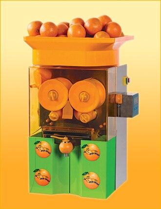 Freies Verschiffen automatische elektrische orangenpresse/handelsorangenpresse maschine/