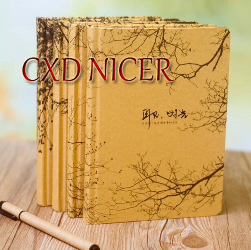 Creative Female Student Organizer Notebook Retro Beautiful Color Page Graffiti Cute Diary Stationery Cute Book Dd1336 140 page note paper creative fruit design