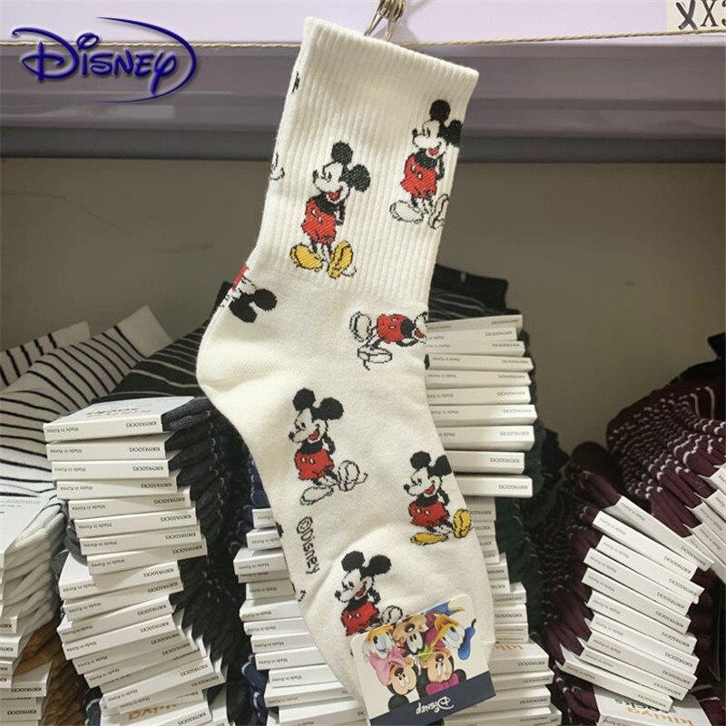 Disney Cute Cartoon Cotton Socks New Design Short Socks Casual Soft Socks
