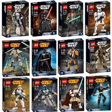 KSZ Star Wars Super Heros  Action Figure Gift Christmas gifts  Compatible with LEGOe  75107 75108 75109 75110 75111 75112