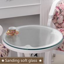 Pvc Tablecloth Soft Glass Table Cover Round Cloth  Clear Waterproof Tablecothes Plastic Oil