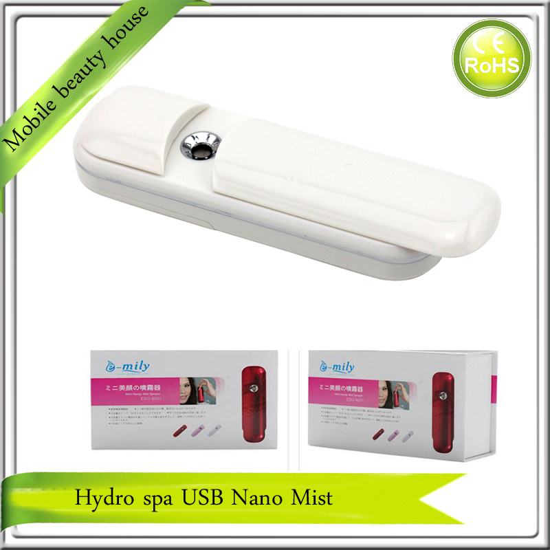 6PCS/LOT Free Shipping Deep Hydrating Hydro Spa USB Rechargeable Eyelash Extensions Nano Handy Mister Sprayer