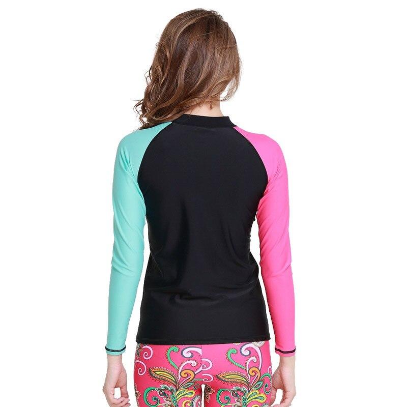 494e1ccf3 Sbart upf 50 rashguard swim shirts ladies rash tops long swimming suits  wetsuit swim surf shirts on Aliexpress.com | Alibaba Group