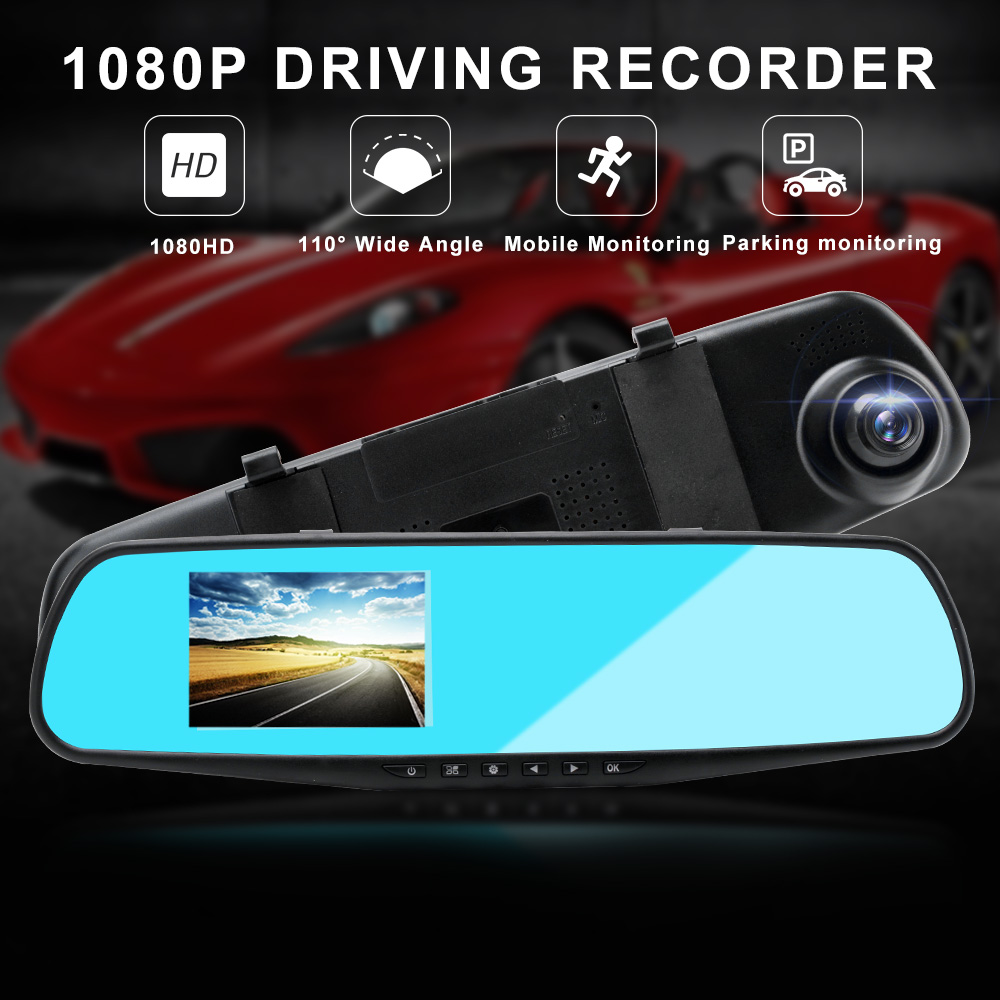 Image 3 - 1080P HD Car DVR Camera Drving Recorder 3.5 inch Blue Screen Motion Detection Wide Angle USB Video Auto Camera Automovil Cama-in DVR/Dash Camera from Automobiles & Motorcycles