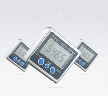 Digital Bevel Box Angle Gauge Meter Mini Protractor 360 Degrees Magnets Base Inclinometer Electronic