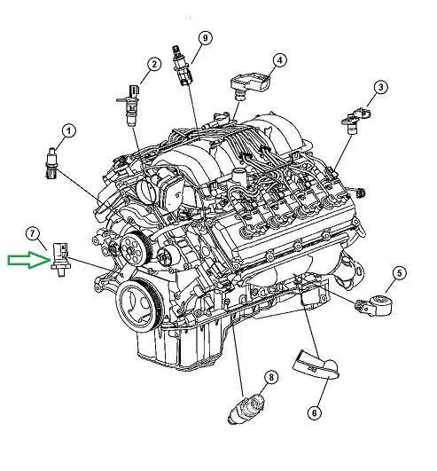 Tiger Shark Engine Chrysler Diagram