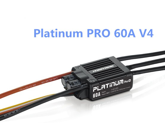 HobbyWing Platinum Pro 50A / 60A V3/ V4 Brushless Electronic Speed controller ESC for RC Drone Heli FPV Multi-Rotor  free shipping 2pcs lot hobbywing platinum 30a pro 2 6s electric speed controller esc opto specially for multi rotor