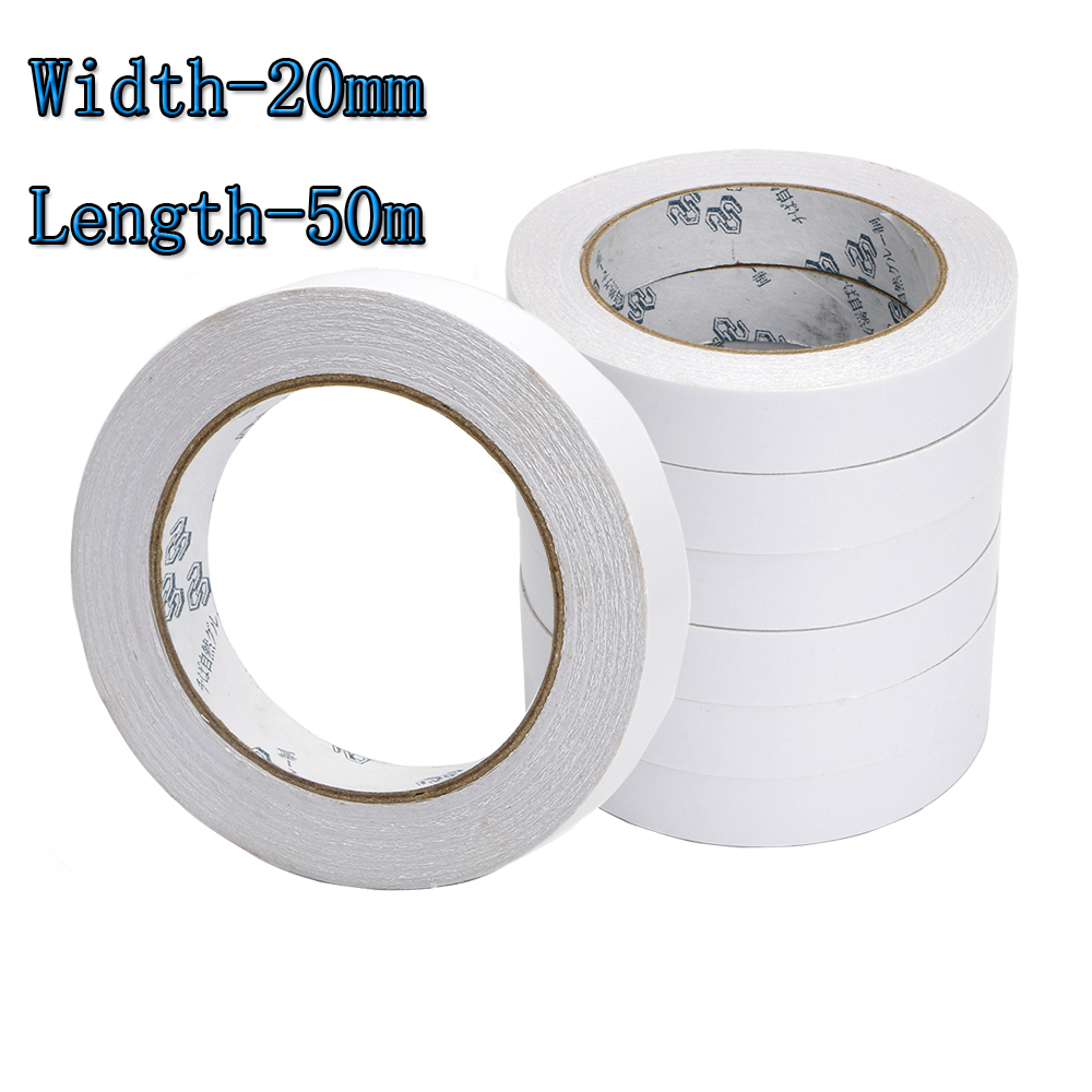 Golf Tape Double-sided Professional White Grip Tape Width 20mm Length 50mm