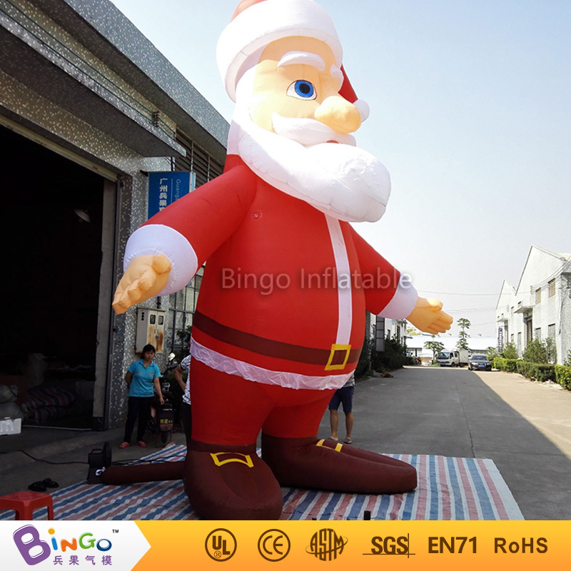 giant inflatable Christmas Santa Claus for outdoor party events-16Ft.-5M high-BG-A0344-17 toy