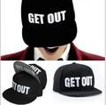 2016 novo design Bigbang G Dragon-k-pop GD equipado Snapback chapéu boné de beisebol ajustável hiphop carta entrar fora frete grátis