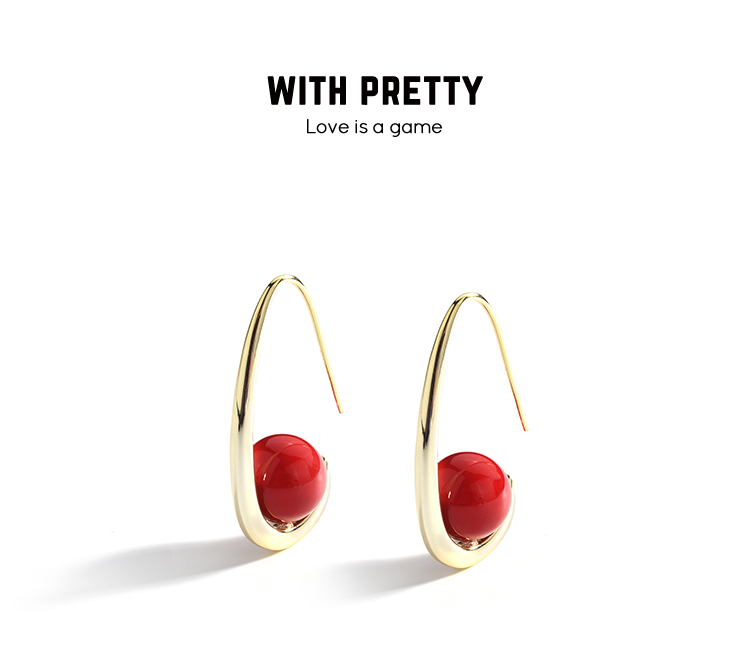 fashion pearl gold stud drop earrings 01 (11)