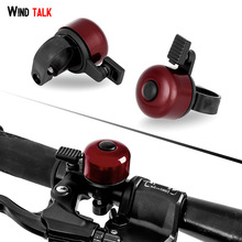 Wind Talk Bicicleta Bell Alarma Bycicle Bike Handlebar Cycle Bell Alarma Bike Horn Ring Loud para seguridad ciclista