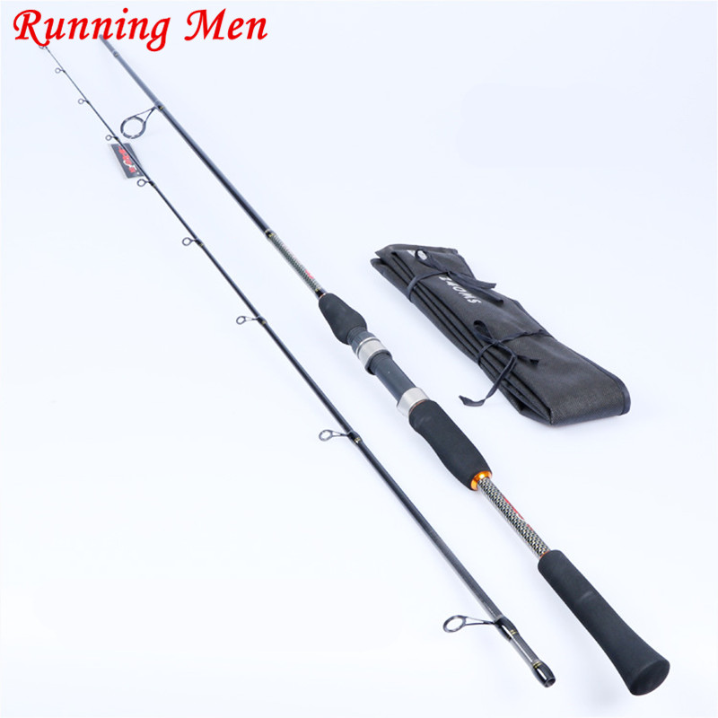 ФОТО 1.8M 2.1M 2.7M 3.0M M Action 2-11g 7-21g Lure Weight Carbon Spinning Casting Lure Fishing Rod
