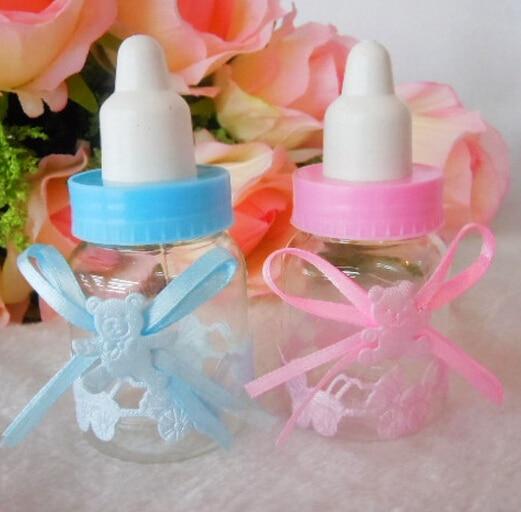 12pcslot Mini Size Baby Candy Box Bottle Baby Shower Baptism