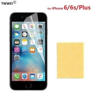 Глянцевая прозрачная защитная пленка для ЖК-экрана для iPhone 6 6s Plus, Защитная пленка для iPhone 6s 6 Plus, пленка для защиты экрана