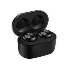 F6 Bluetooth 5.0หูฟังTWSหูฟังไร้สายบลูทูธหูฟังกีฬาเบสหูฟัง3Dสเตอริโอ