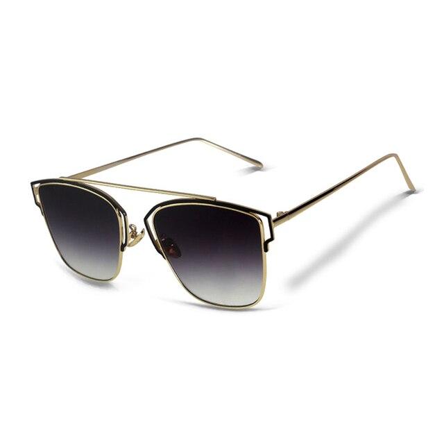 08df8e2620e 2018 TAGION Fashion Cat Eye Sunglasses Women Vintage Sun Glasses Mirror  Driving Lenses For Female Lunette De Soleil Femme UV400