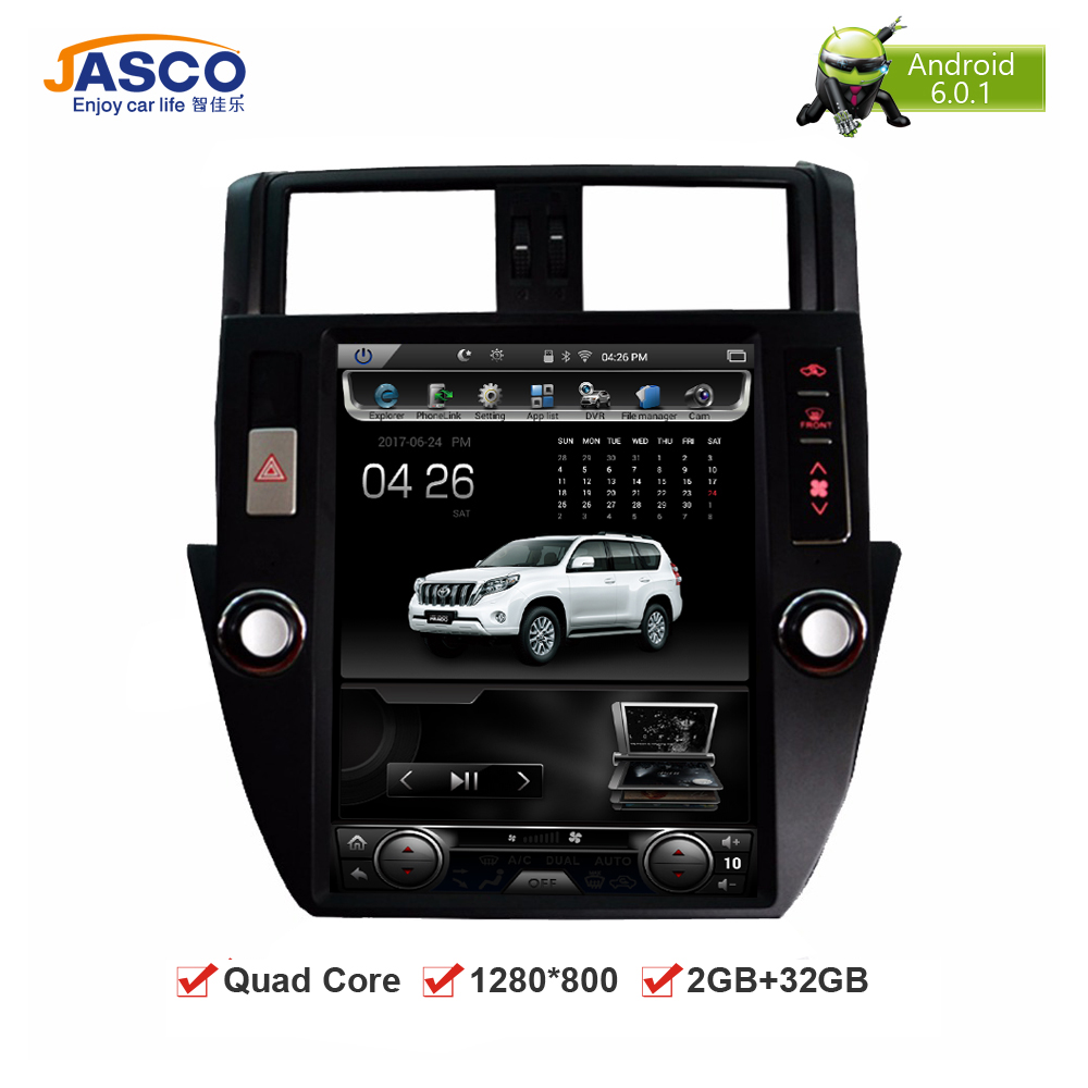 android 6 0 car dvd stereo headunit for toyota land. Black Bedroom Furniture Sets. Home Design Ideas