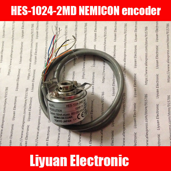 New NEMICON CORP HES 25 2MD 2500P R rotary encoder 2500 pulse encoder