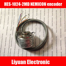 New NEMICON CORP HES 25 2MD 2500P/R rotary encoder / 2500 pulse encoder