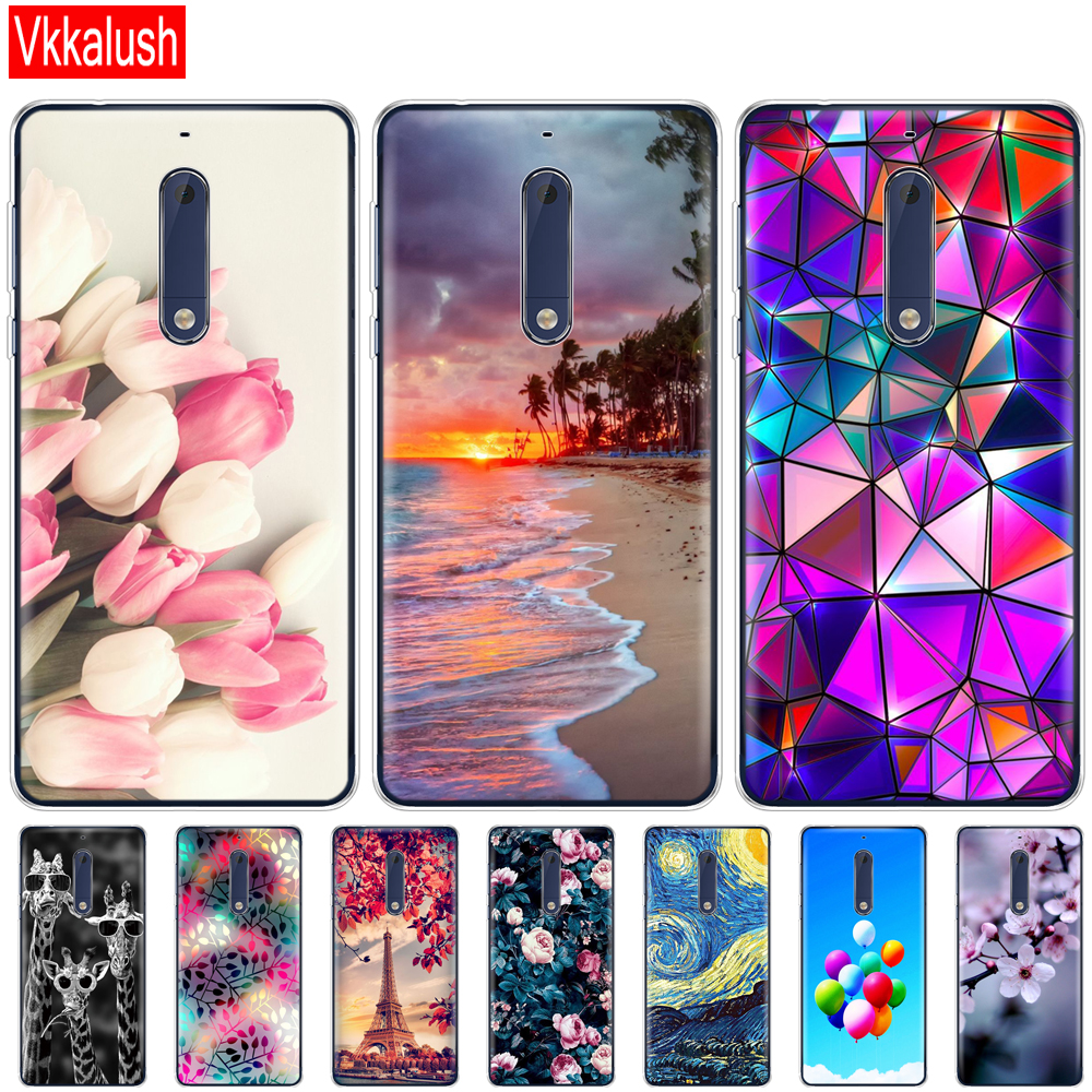 Silicon case <font><b>for</b></font> <font><b>Nokia</b></font> 1 2 <font><b>2.1</b></font> 3 3.1 5 5.1 plus <font><b>2018</b></font> soft tpu funny back <font><b>cover</b></font> shockproof Coque bumper funny shell animal image