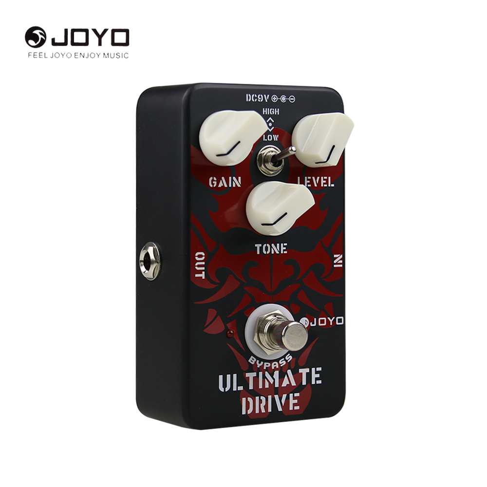 JOYO JF-02 OCD Ultimate Drive Electric Guitar Pedal Effect With True Bypass Wiring Different Sounds High Low Tone Switch