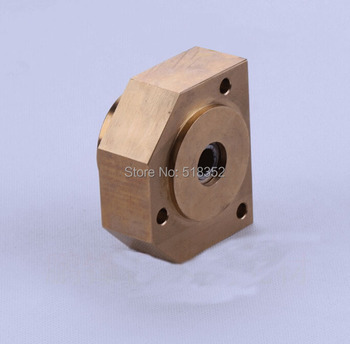 Chmer CH810 Wire Lead Wheel's Brass Pedestal Holder Base w/ Side Cut for WEDM-LS Wire Cut Machine Electrical Parts