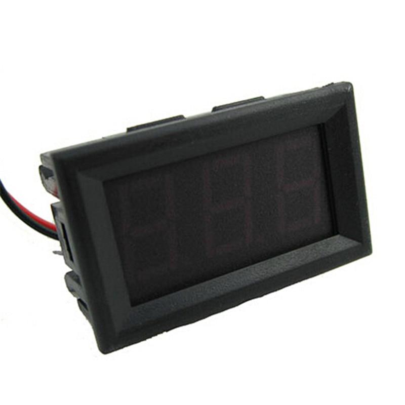Mini két vezetékes digitális voltmérő piros LED kijelző DC0 ~ - Mérőműszerek - Fénykép 5