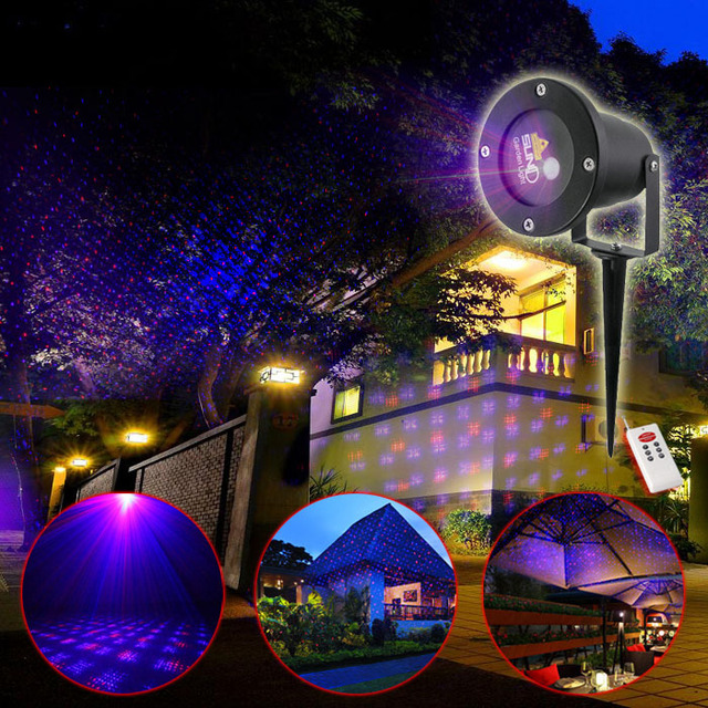 New suny remote control outdoor indoor red blue rb star laser new suny remote control outdoor indoor red blue rb star laser projector xmas landscape lighting outside aloadofball Image collections