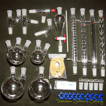 24/40,New Organic Chemistry Laboratory Glassware Kit,32PCS,Lab Chemical Device
