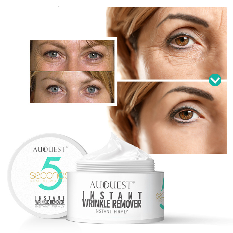 AuQuest 20g Beauty Face Cream 5 Seconds Wrinkle Remover Anti Aging Moisturizer Instant Firming Facial Skin Care Product 3