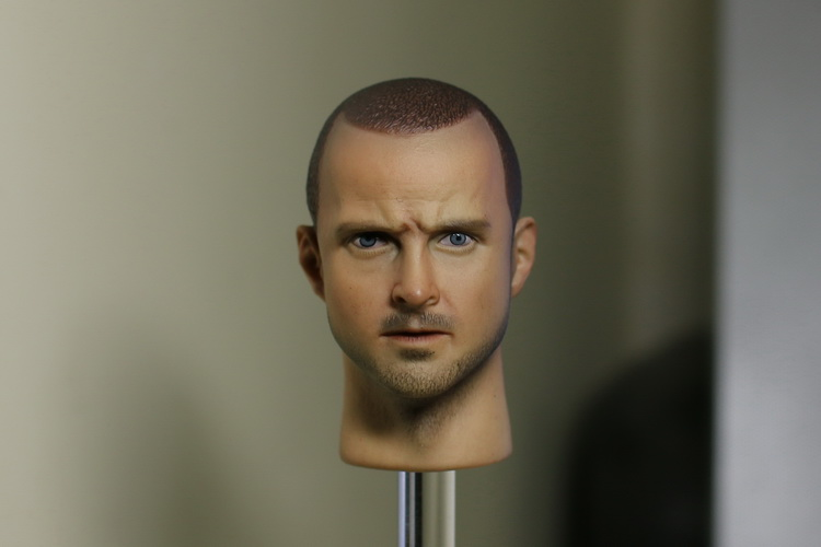 1/6 scale figure head shape for 12 Action figure doll Breaking Bad  esse Pinkman head, not include body and clothes 1 6 scale figure doll head shape for 12 action figure doll accessories breaking bad jesse pinkman figure male head carved