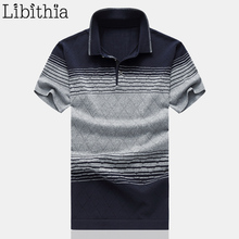 New Polo Shirt Men Plus Size M-6XL Short Sleeve Jerseys New Summer Polo Shirt Man Casual Clothing 2017 Grey Red Khaki G13