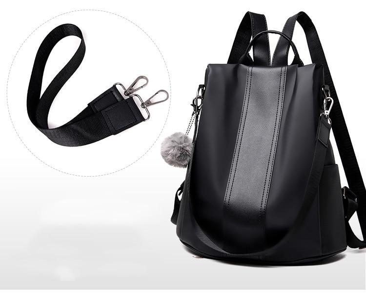 HTB1mKSDXtfvK1RjSspoq6zfNpXaB New Fashion Waterproof Casual Women Backpack Purse Anti-theft Rucksack Mochila Feminina School Shoulder Bag for Teenagers Girls