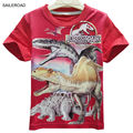 4-11Years Summer children kids baby boys t shirt Cartoon Dinosaur Teenager Girls Tops Tees Shorts T-Shirts SAILEROAD