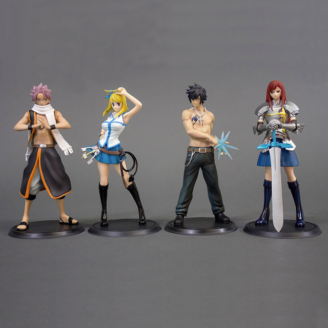 Fairy Tail Action Figure Set 1