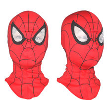 5pcs/lot Super Spiderman Mask Cosplay Hood Party Masks Full Head Halloween Festive Party Full Face Adults Villain Joke(China)