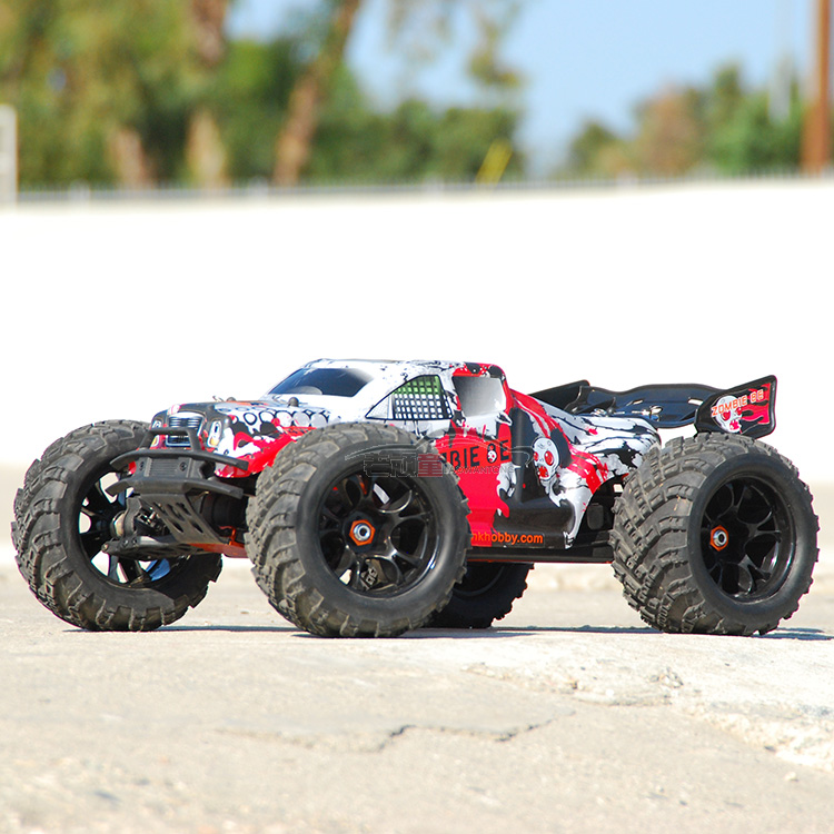 DHK zombies1:8 Scale Waterproof 4WD  strength than vkar bison High speed electronics remote control Monster Truck,rc racing cars