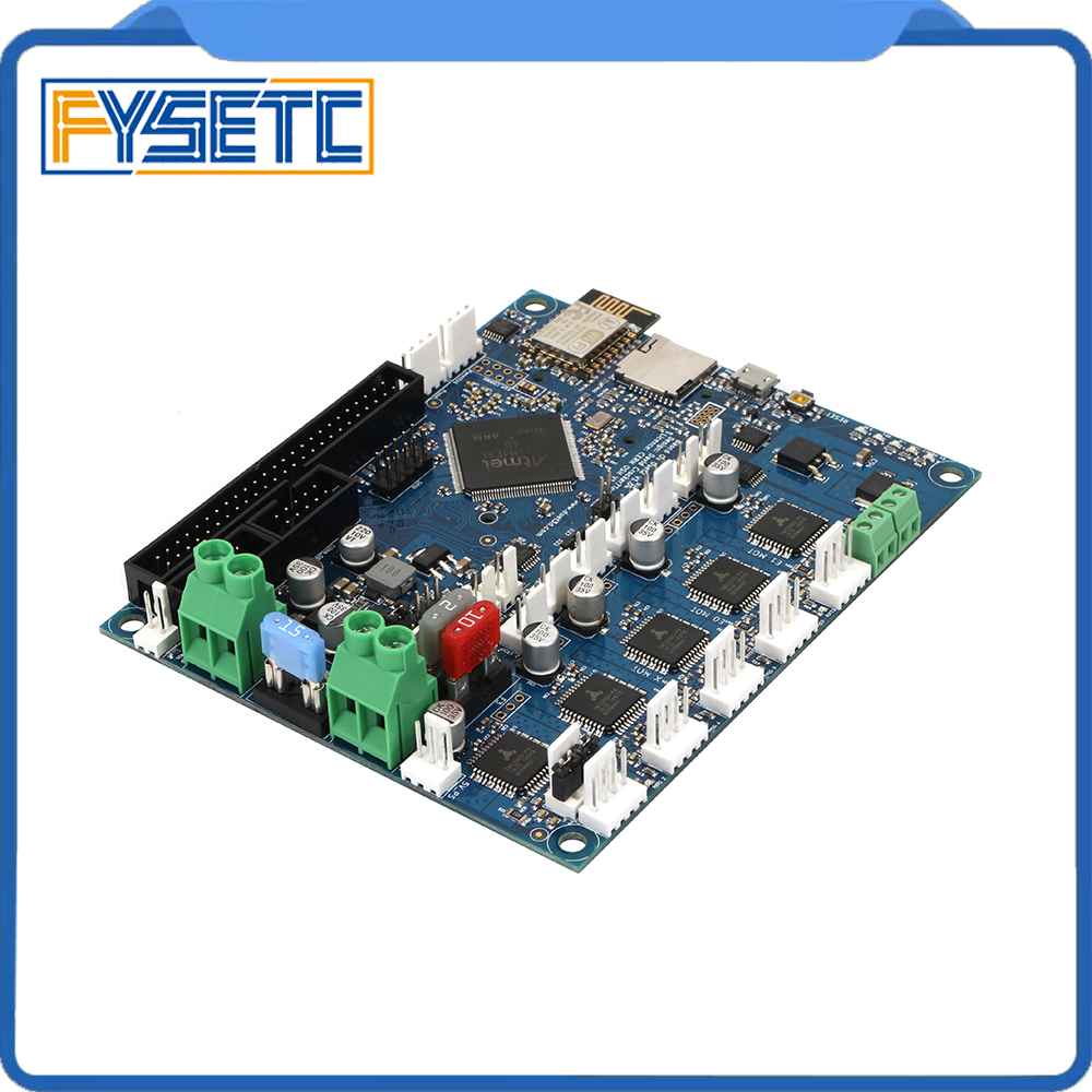 Duet 2 Wifi V1 04 Upgrades Controller Board Cloned DuetWifi Advanced 32bit Motherboard For BLV MGN