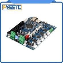 Duet 2 Wifi V 1,04 Upgrades Controller Board Geklont DuetWifi Erweiterte 32bit Motherboard Für BLV MGN Cube 3D Drucker CNC maschine