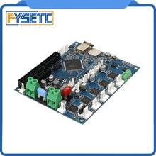 Плата контроллера Duet 2 Wifi V1.04, клонированная плата DuetWifi, улучшенная 32 битная материнская плата для 3D принтера BLV MGN Cube CNC