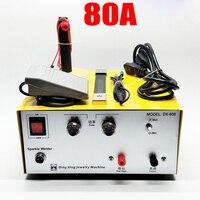 DX80A высокомощный лазерный точечный сварочный аппарат импульсная точечная сварочная сенсорная сварочная машина с оборудование для ювелирн