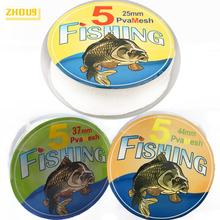 5M PVA Mesh Refill Carp Fishing Stocking Boilie Rig Bait Wrap Bags