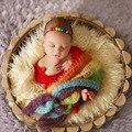 Новорожденный Boy Девушки Многоцветный Завернутый для Фотографии Реквизит Детские Девушки Фото fotografie фото Стрелять Реквизит Аксессуары костюм