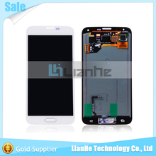 LCD Display Screen +Touch Digitizer With Home Button For Samsung Galaxy S5 i9600 G900F