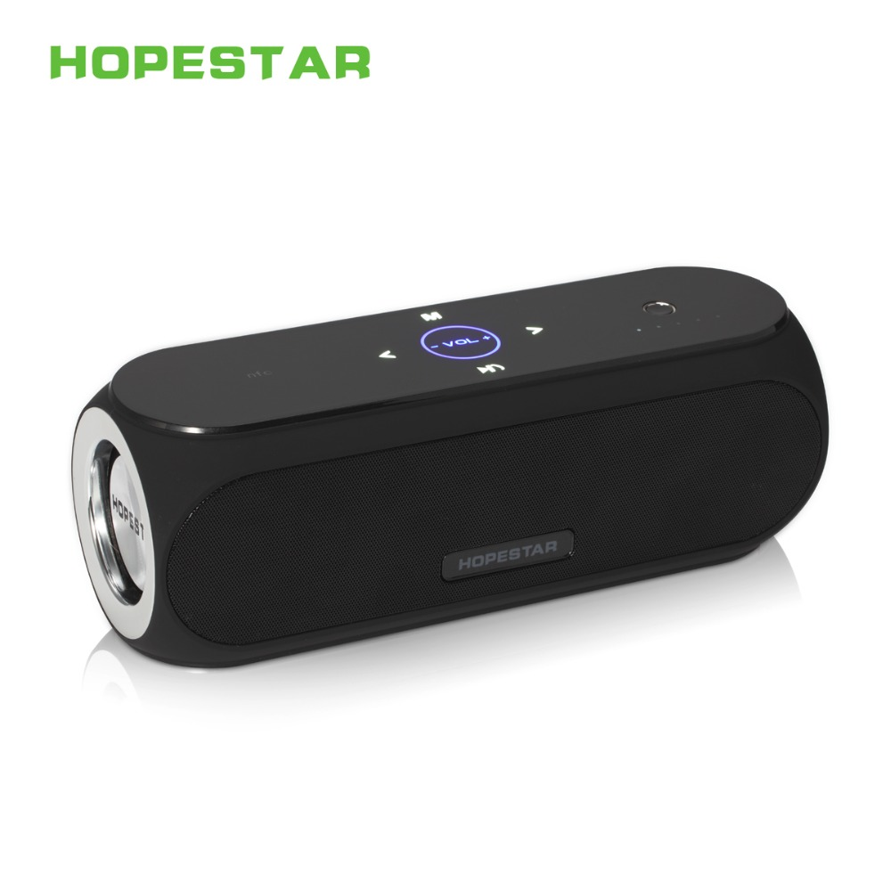 HopeStar H19 Wireless Bluetooth Speaker MP3 Parlantes Portable Outdoor Bluetooth Speakers Shocking Subwoofer Soundbox Touch NFC hot felyby portable bluetooth speaker outdoor usb wireless mp3 speaker powered audio music speakers shockproof subwoofer