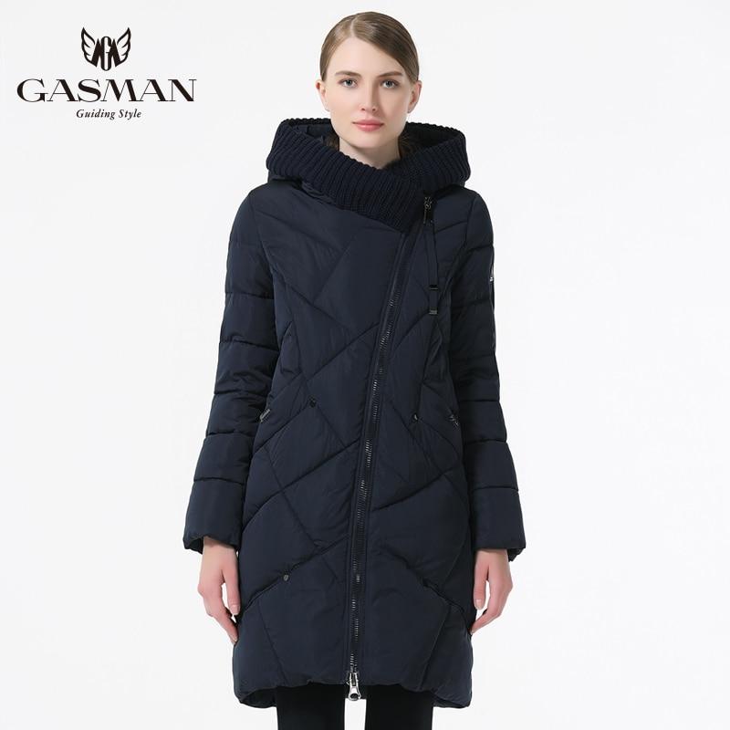 GASMAN 2019 пуховик женский с капюшоном женская парка куртка верхняя одежда зимняя пуховики для женщин большой размер 5XL 6XL - 4